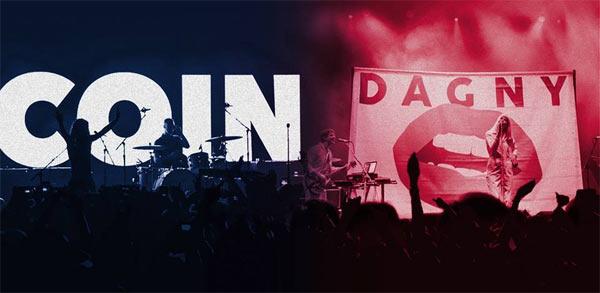 COIN and Dagny Live at the Ayala Malls, Manila