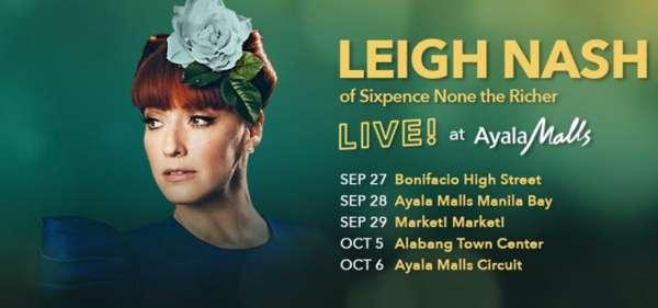 Leigh Nash LIVE at Ayala Malls!