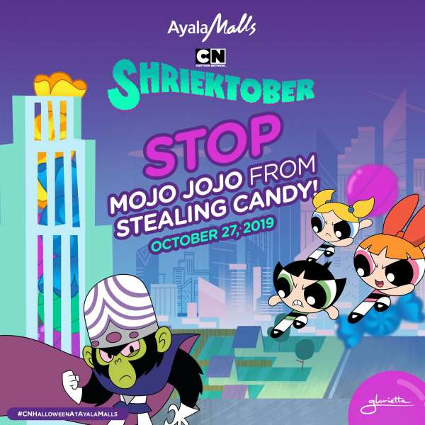 Cartoon Network Halloween Shriektober Event Glorietta