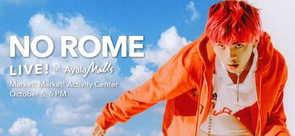No Rome Live at Ayala Malls!