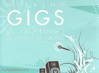 Weekend Gigs At Glorietta 5 Acoustic Sessions