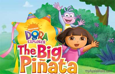 Dora the Explorer The Big Pinata Live at the Ayala Malls