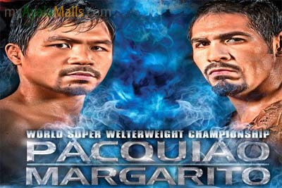 World Super Welterweight Championship, Pacquiao - Margarito