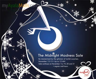 The Midnight Madness Sale
